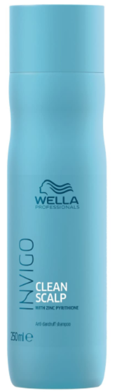 Wella Шампунь против перхоти с Цинком Clean Scalp Balance Invigo 250 мл