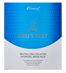 Esthetic House Гидрогелевая маска для лица Bird's Nest Revitalizing Hydrogel Mask Pack