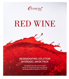 Esthetic House Гидрогелевая маска для лица Red Wine Regenerating Solution
