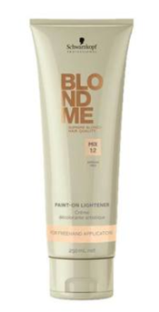 Schwarzkopf Безамиачный обесцвечивающий крем Paint-On Lightener BlondMe 250 мл