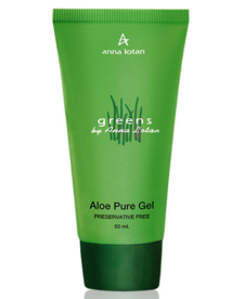 Anna Lotan Гель алоэ вера Aloe Pure Gel Greens 50 мл