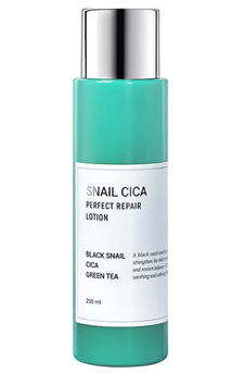 Esthetic House Лосьон для лица Муцин улитки/Центелла Snail Cica Perfect Repair Lotion 200 мл